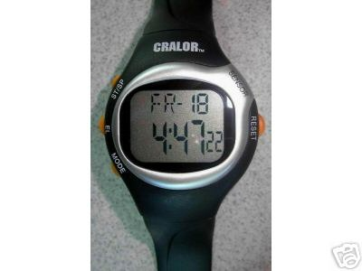 CALORIE AND HEART RATE WATCH!